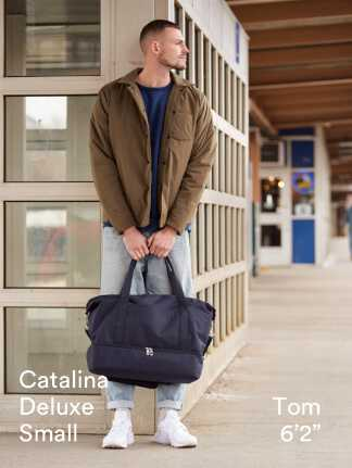 """Catalina Deluxe Small - Tom is 6'2"""""""
