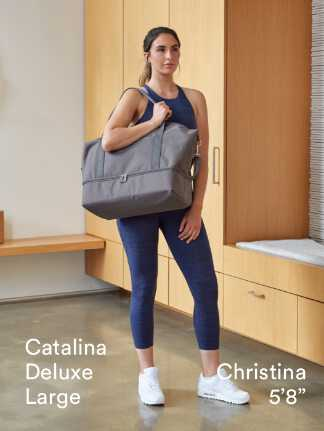 """Catalina Deluxe Large - Christina is 5'8"""""""