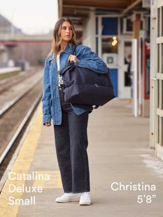 """Catalina Deluxe Small - Christina is 5'8"""""""