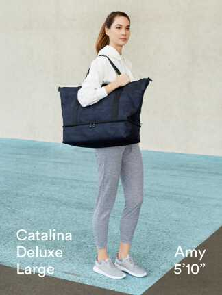 """Catalina Deluxe Large - Amy is 5'10"""""""