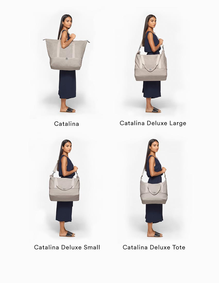 cc15aa0256c1 Lightweight Canvas Weekender Bag - The Catalina – Lo   Sons