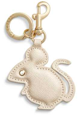Rat charm isolated on white background