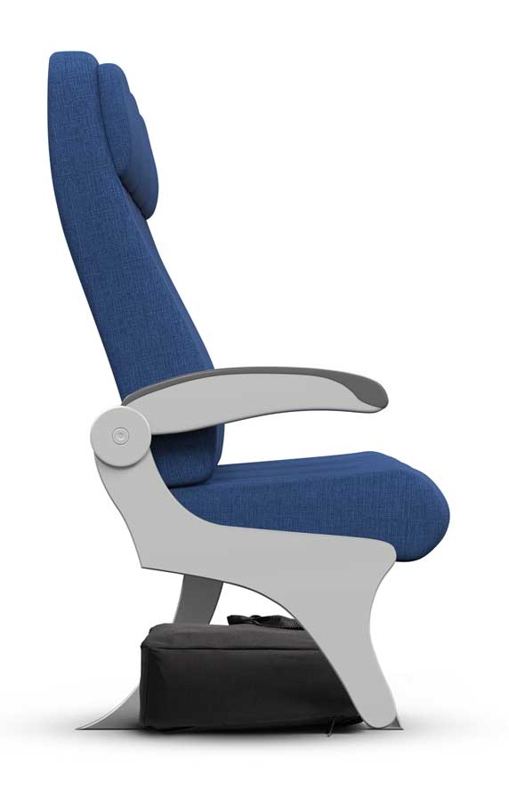 sample airline seat