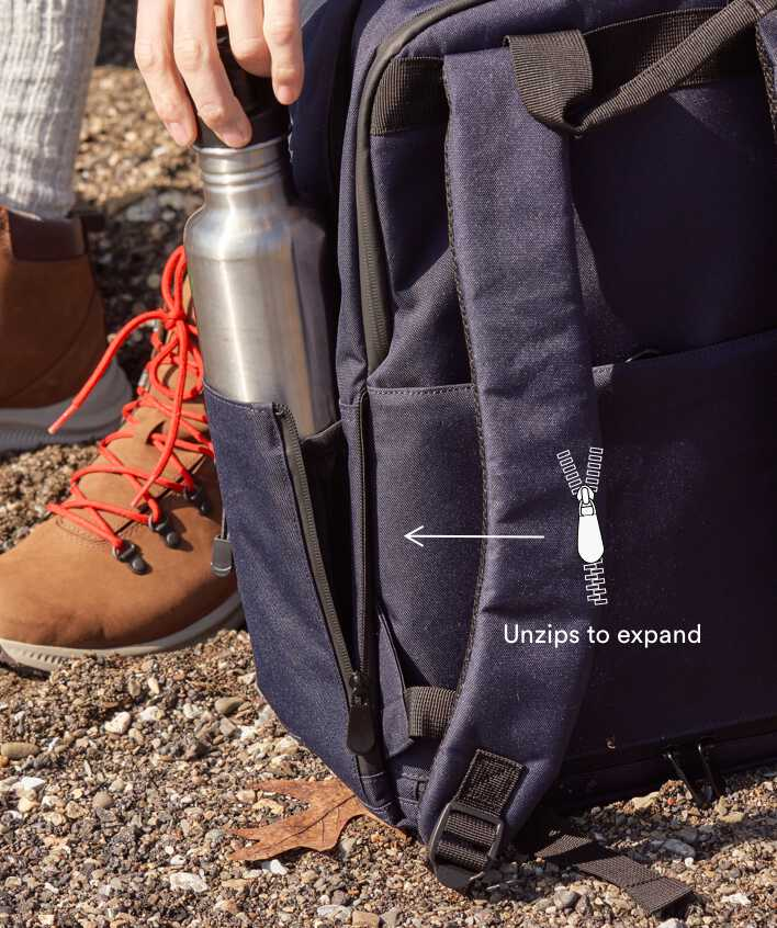 Hanover Deluxe 2 expandable pockets