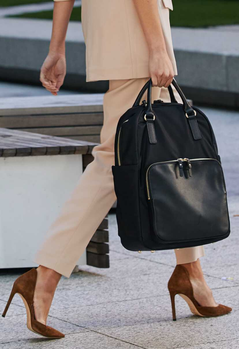 person with bag