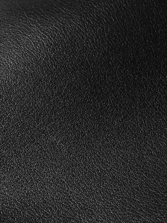 close up of nappa leather