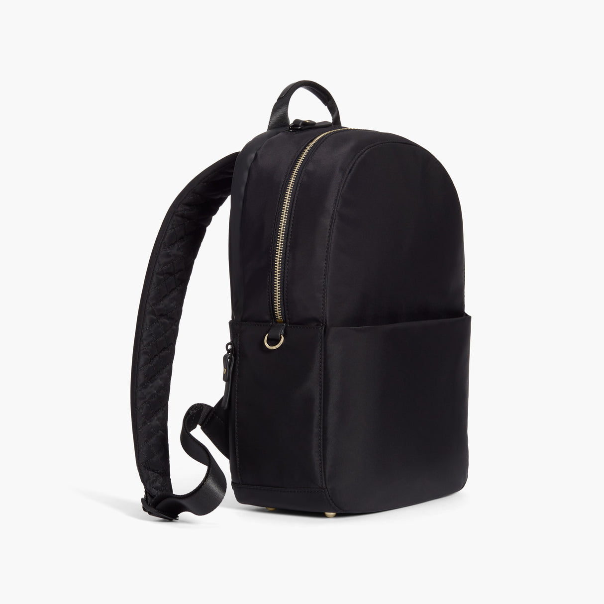 Side - Beacon - Nylon - Black / Gold / Lavender - Backpack - Lo & Sons