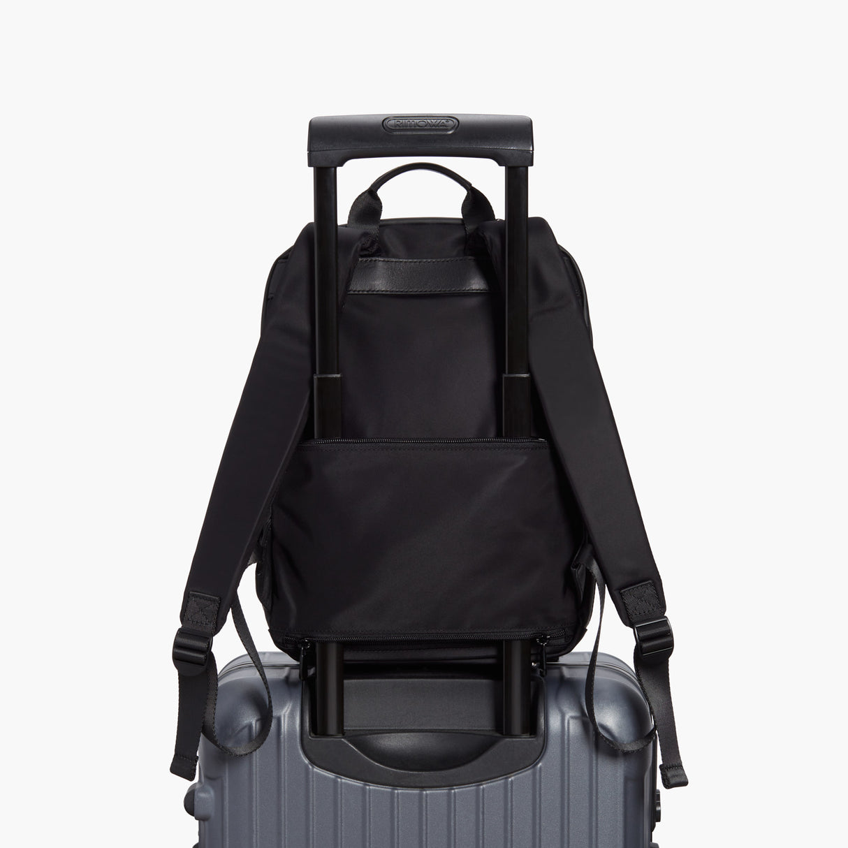 Luggage - Beacon - Nylon - Black / Gunmetal / Azure - Backpack - Lo & Sons