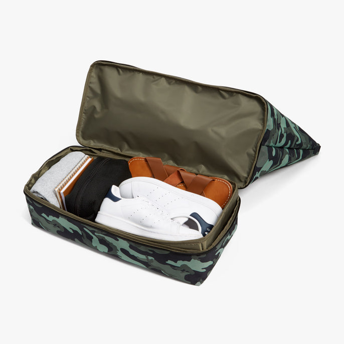 Bottom Packed - Catalina Deluxe - 600D Recycled Poly - Green Camo - Weekender - Lo & Sons