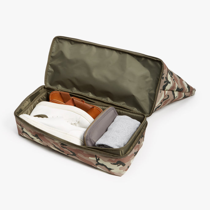 Bottom Packed - Catalina Deluxe - 600D Recycled Poly - Tan Camo - Weekender - Lo & Sons