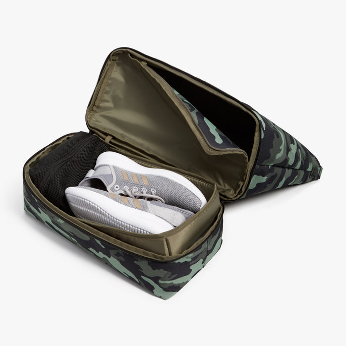 Bottom Pocket - Catalina Deluxe Tote - 600D Recycled Poly - Green Camo - Tote - Lo & Sons