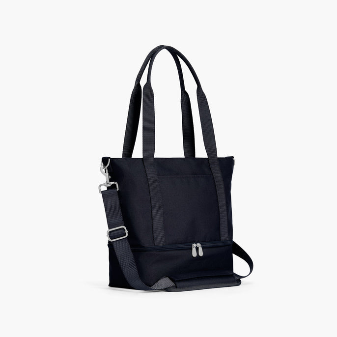 Side - Catalina Day Tote - 600D Recycled Poly - Deep Navy - Tote - Lo & Sons