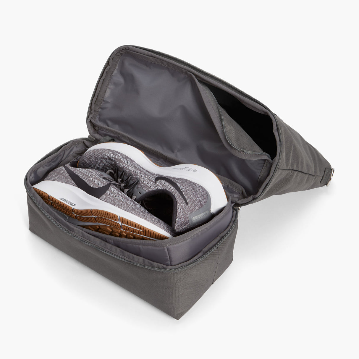 Bottom Pocket Propped Shoes - Catalina Day Tote - 600D Recycled Poly - Grey - Tote - Lo & Sons