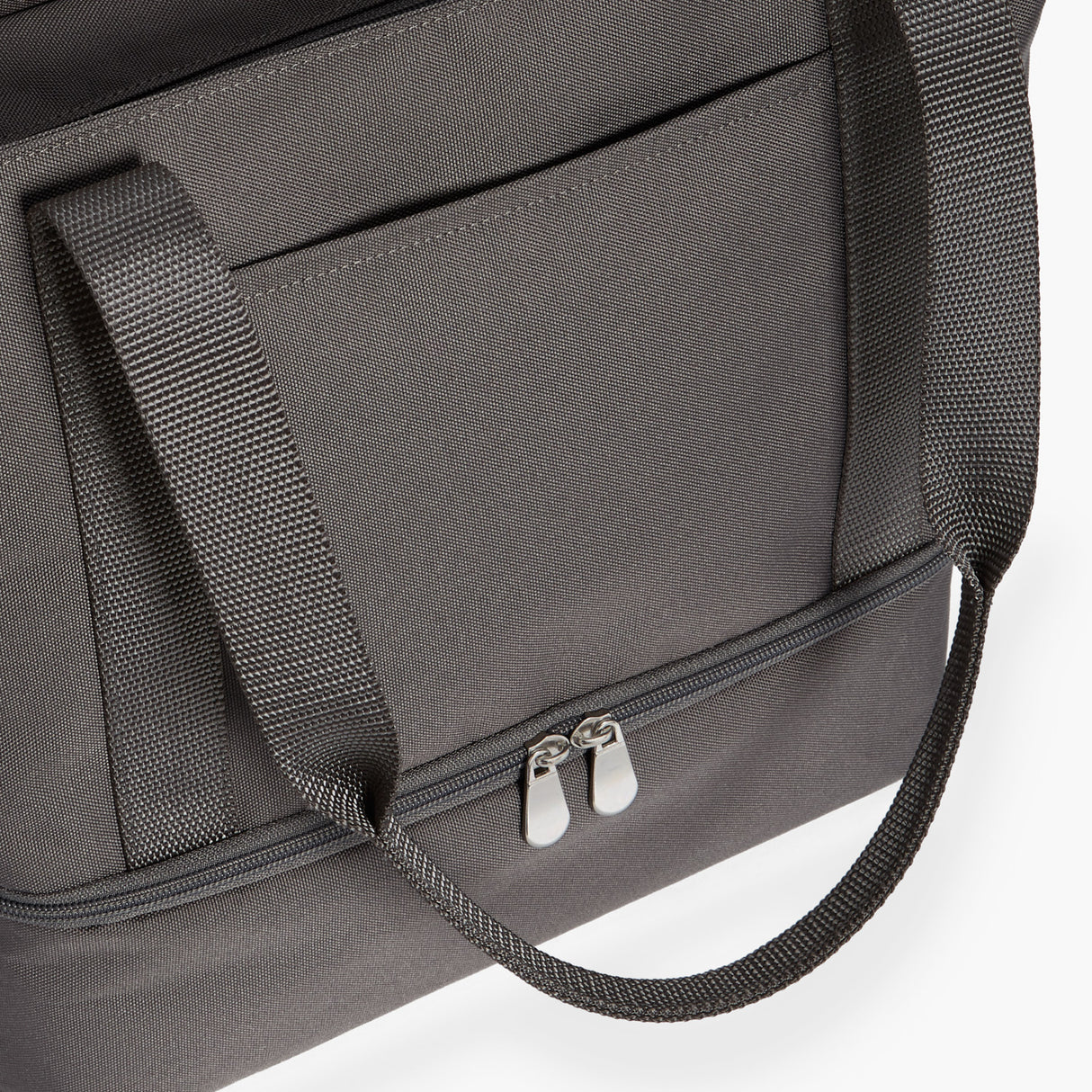 Front Pocket - Catalina Day Tote - 600D Recycled Poly - Grey - Tote - Lo & Sons