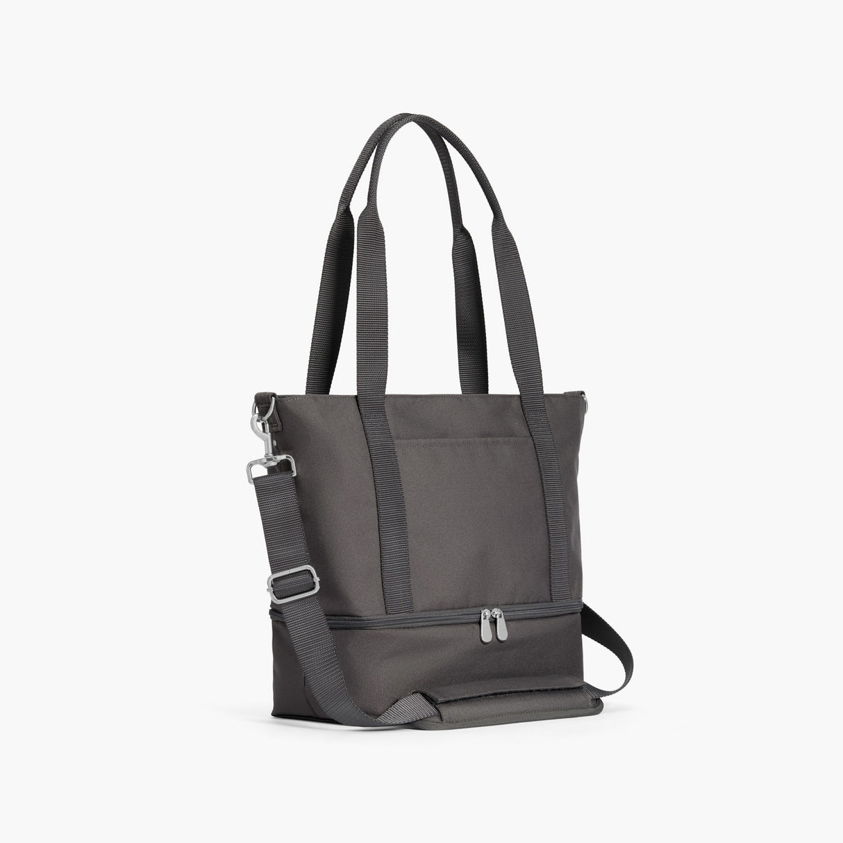 Side - Catalina Day Tote - 600D Recycled Poly - Grey - Tote - Lo & Sons