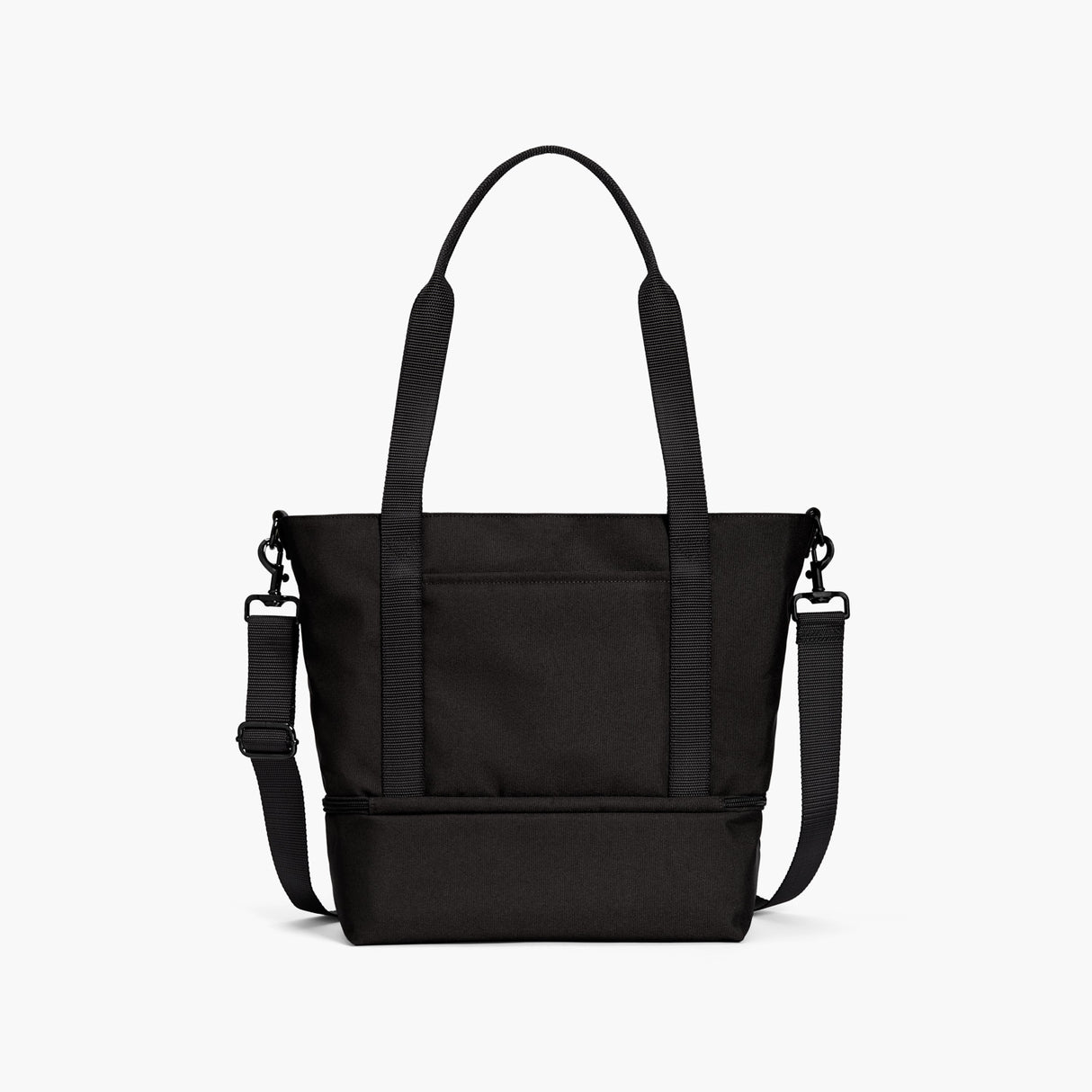 Back - Catalina Day Tote - 600D Recycled Poly - Onyx - Tote - Lo & Sons