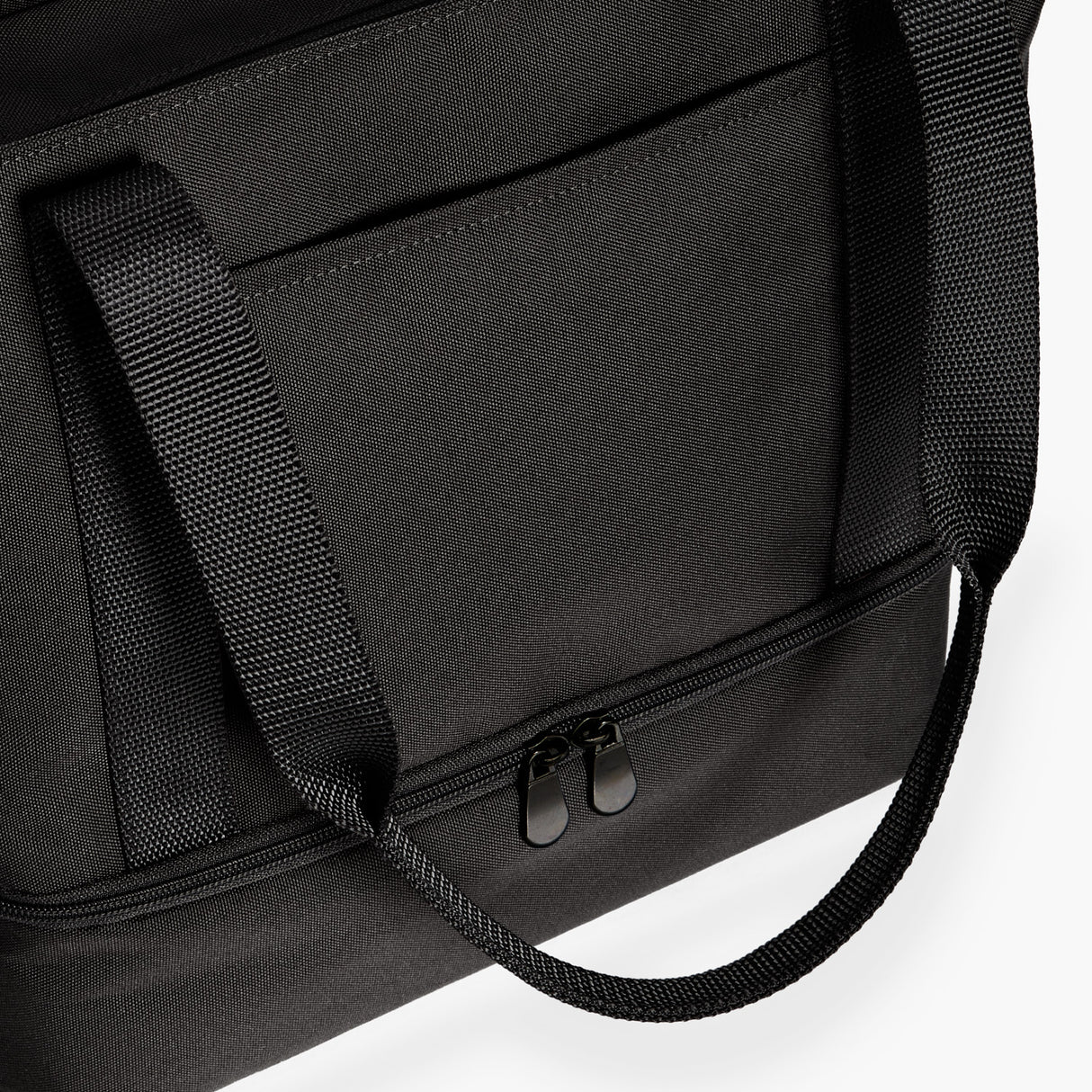 Front Pocket - Catalina Day Tote - 600D Recycled Poly - Onyx - Tote - Lo & Sons