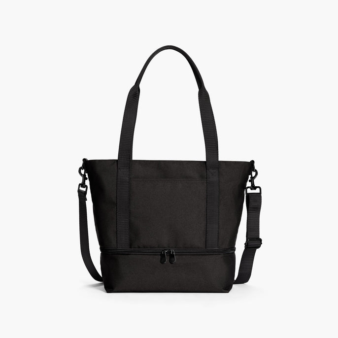 Front - Catalina Day Tote - 600D Recycled Poly - Onyx - Tote - Lo & Sons