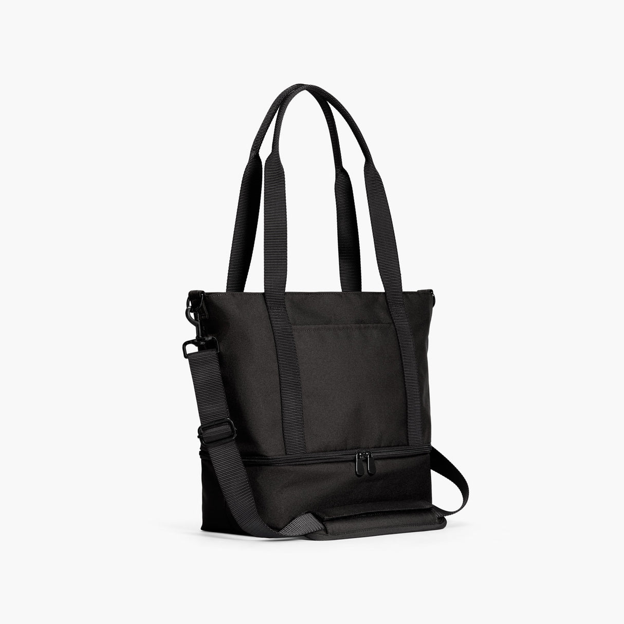 Side - Catalina Day Tote - 600D Recycled Poly - Onyx - Tote - Lo & Sons