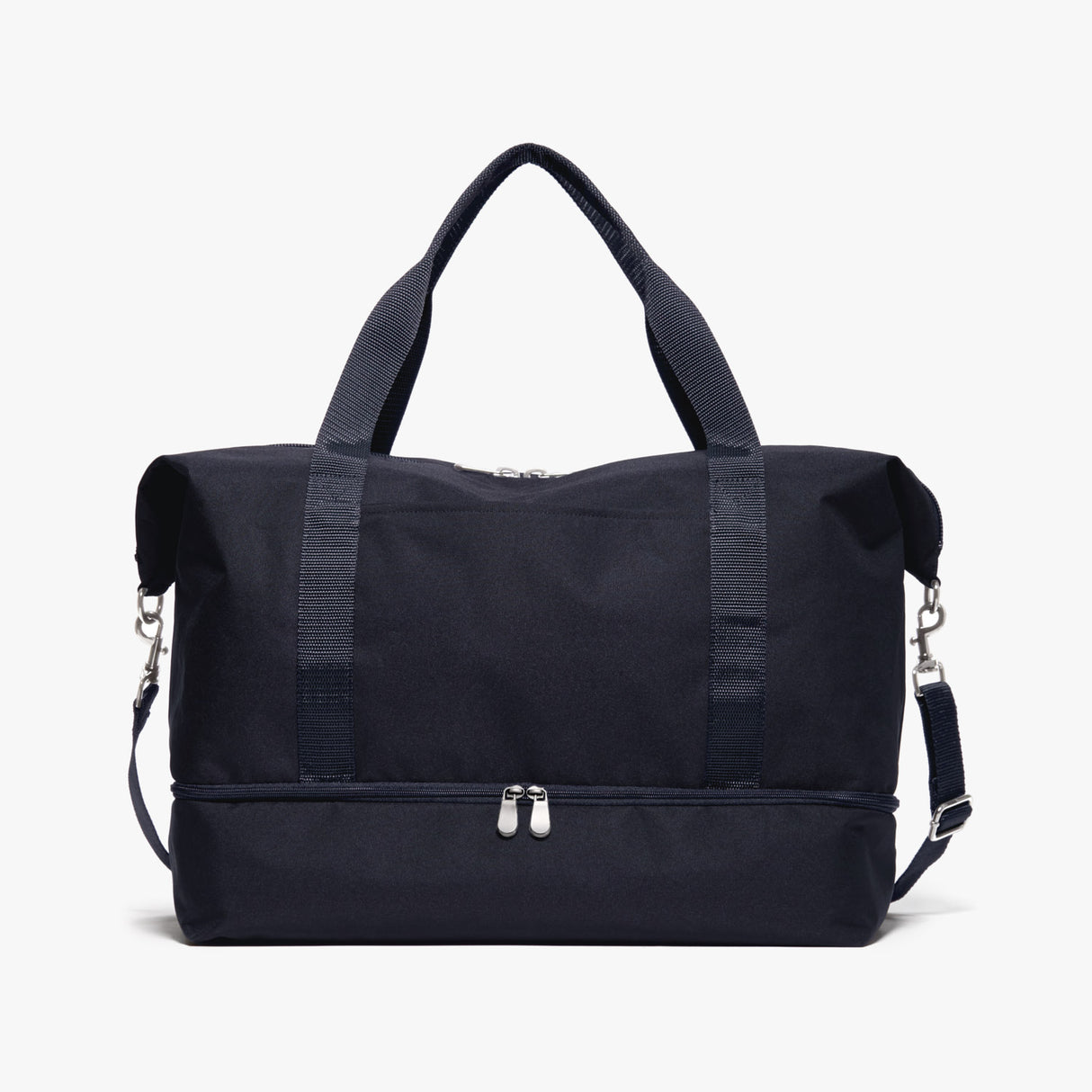 Front - Catalina Deluxe - 600D Recycled Poly - Deep Navy - Weekender - Lo & Sons