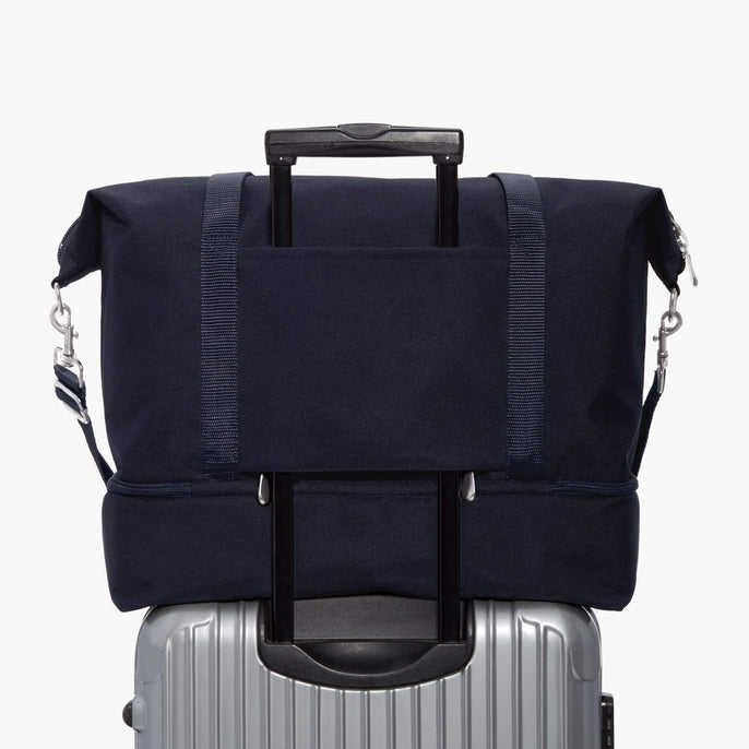 Luggage Sleeve - Catalina Deluxe - 600D Recycled Poly - Deep Navy - Weekender - Lo & Sons