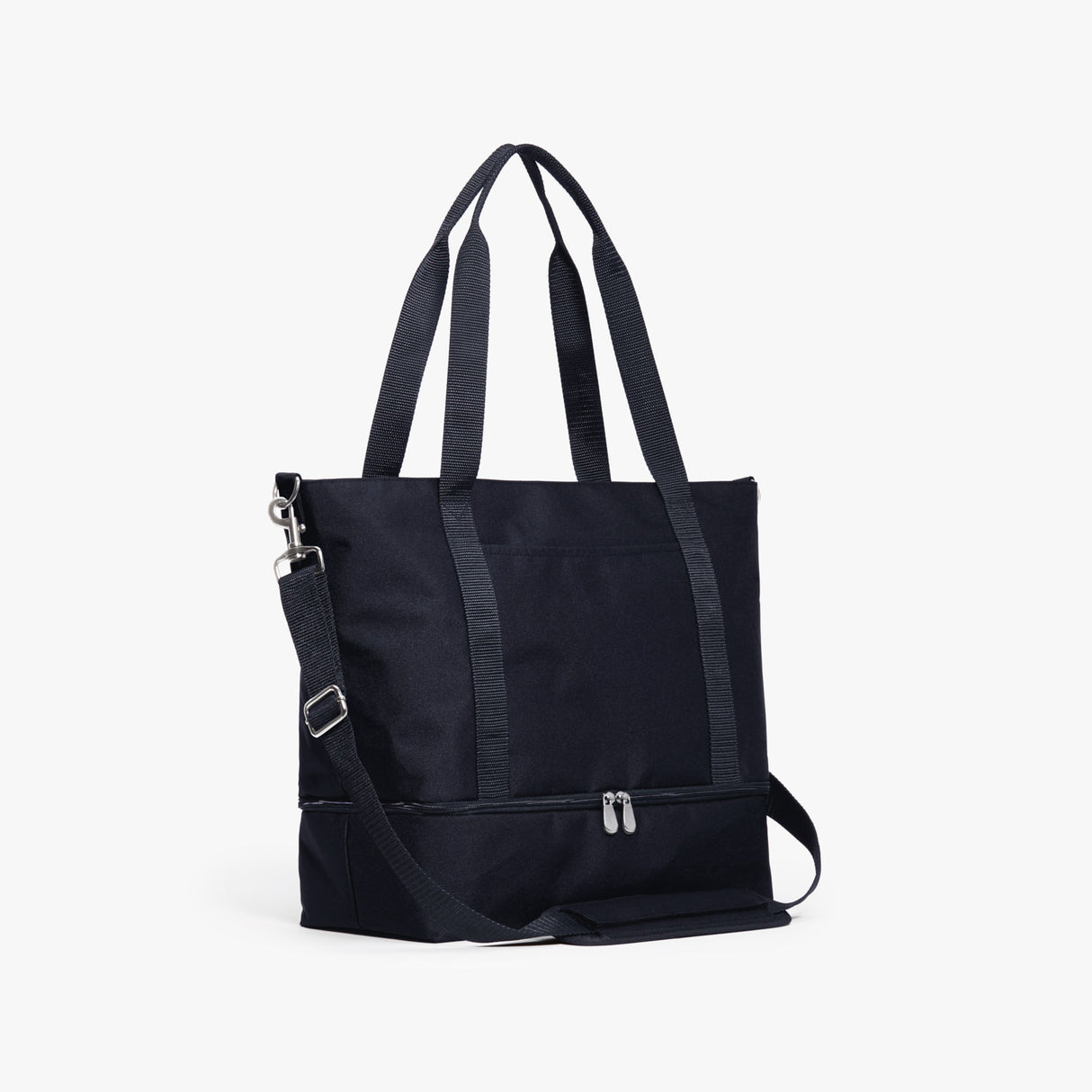 Side - Catalina Deluxe Tote - 600D Recycled Poly - Deep Navy - Tote - Lo & Sons