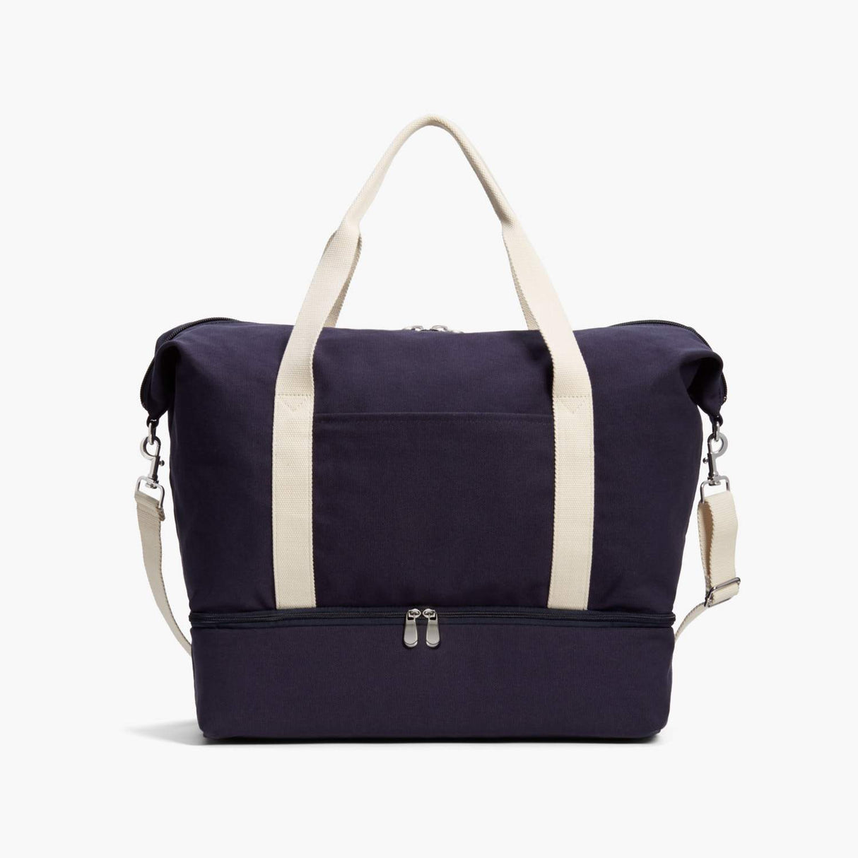 Front - Catalina Deluxe - Organic Canvas - Deep Navy - Weekender - Lo & Sons