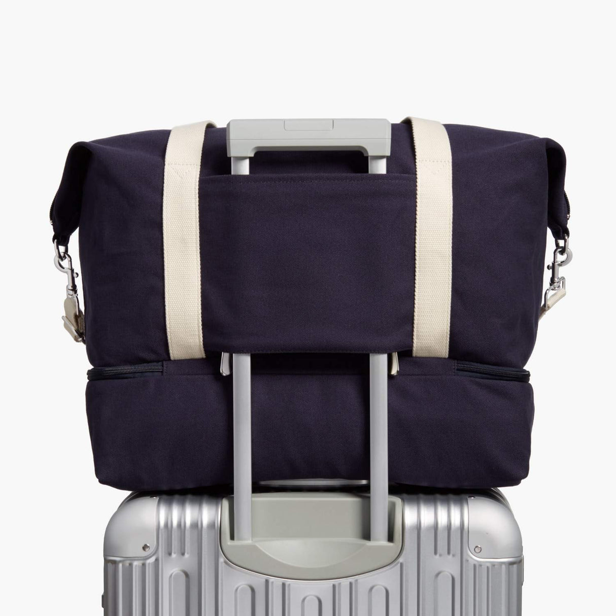 Luggage Sleeve - Catalina Deluxe - Organic Canvas - Deep Navy - Weekender - Lo & Sons