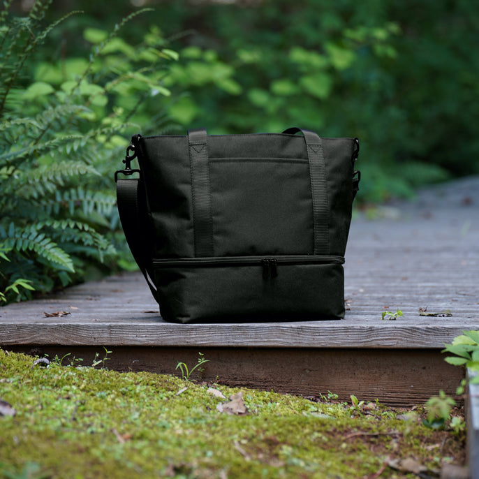 The Catalina Day Tote - 600D Recycled Poly - Onyx