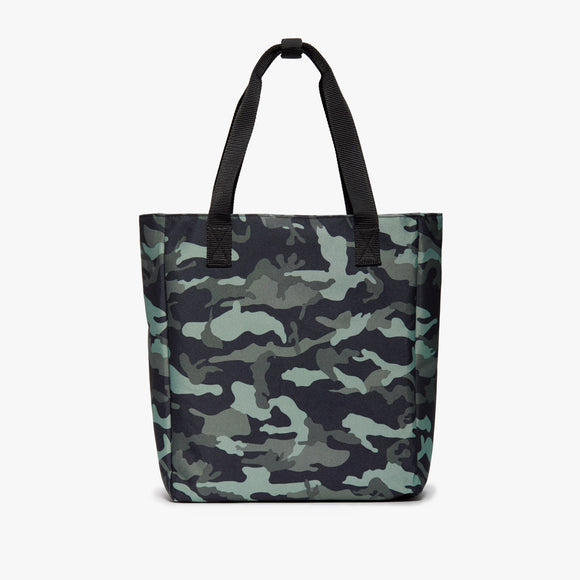 Front Tote - Edgemont - 600D Recycled Poly - Green Camo - Backpack - Lo & Sons