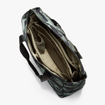 Interior Empty - Edgemont - 600D Recycled Poly - Green Camo - Backpack - Lo & Sons