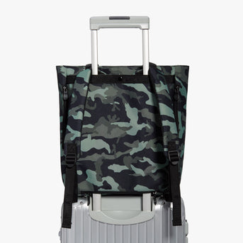 Luggage Sleeve - Edgemont - 600D Recycled Poly - Green Camo - Backpack - Lo & Sons