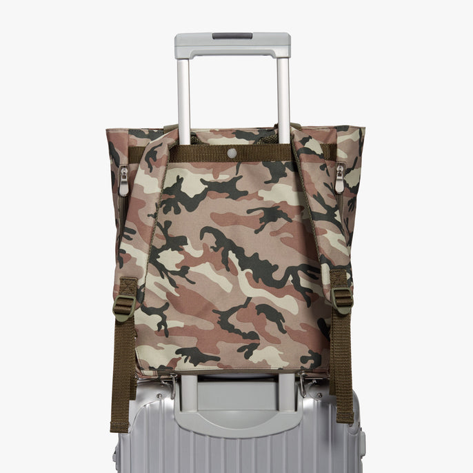 Luggage Sleeve - Edgemont - 600D Recycled Poly - Tan Camo - Backpack - Lo & Sons