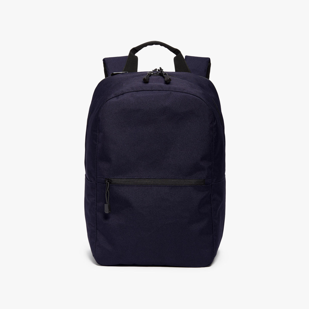 Front - Hanover 2 - 600D Recycled Poly - Deep Navy - Backpack - Lo & Sons
