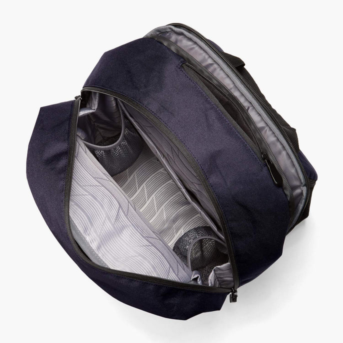 Interior Empty - Hanover 2 - 600D Recycled Poly - Deep Navy - Backpack - Lo & Sons