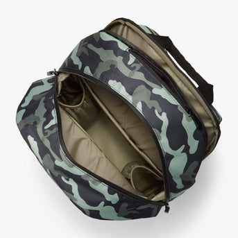 Interior Empty - Hanover 2 - 600D Recycled Poly - Green Camo - Backpack - Lo & Sons