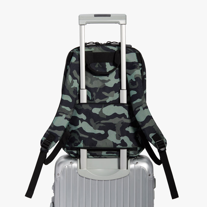 Luggage Backpack - Hanover 2 - 600D Recycled Poly - Green Camo - Backpack - Lo & Sons