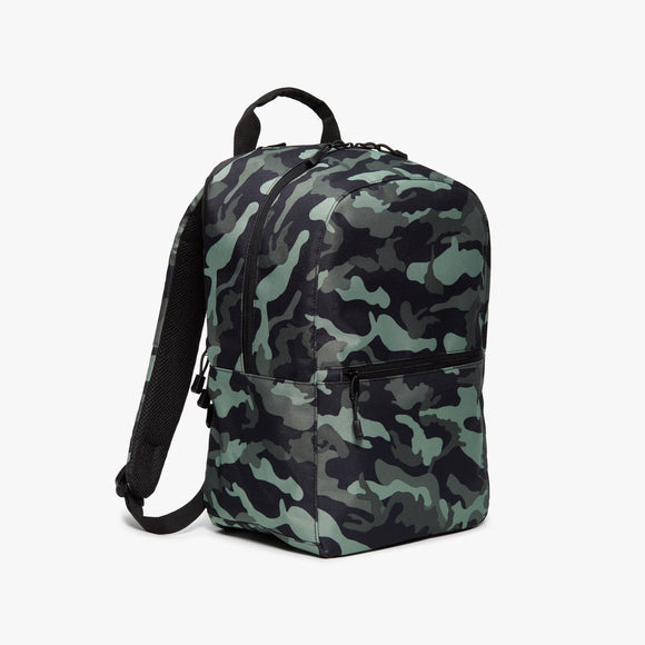 Side - Hanover 2 - 600D Recycled Poly - Green Camo - Backpack - Lo & Sons