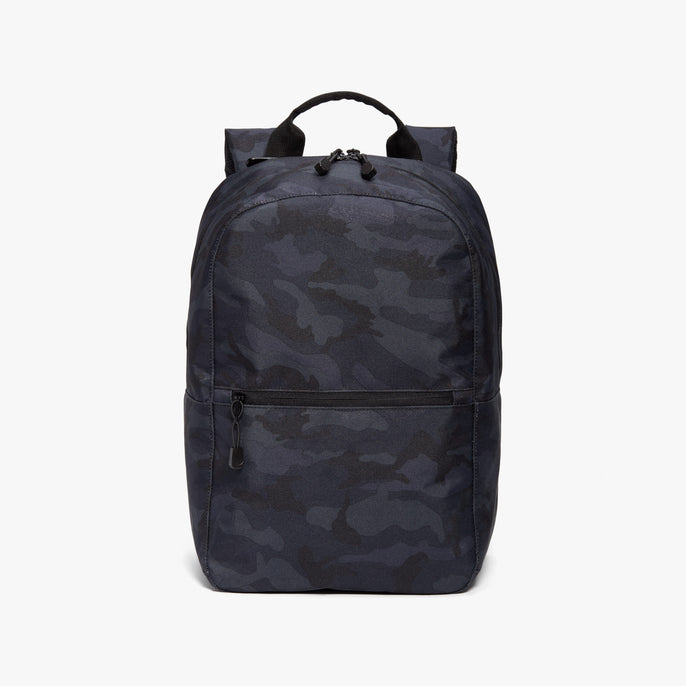 Front - Hanover 2 - 600D Recycled Poly - Navy Camo - Backpack - Lo & Sons