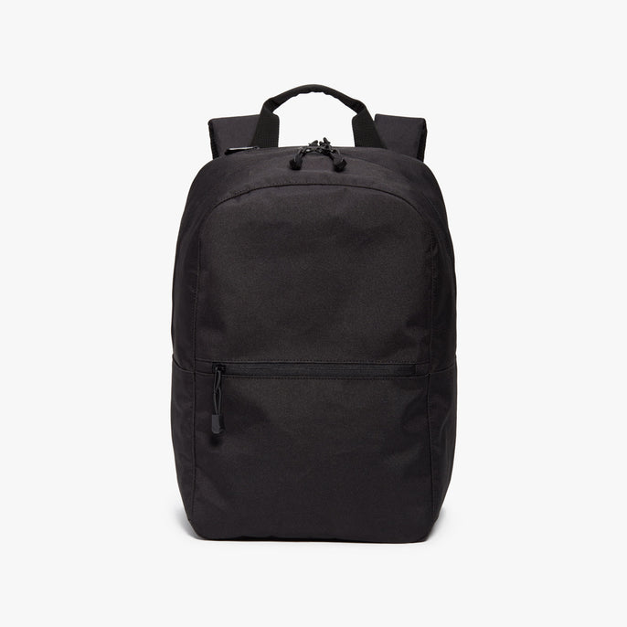 Front - Hanover 2 - 600D Recycled Poly - Onyx - Backpack - Lo & Sons
