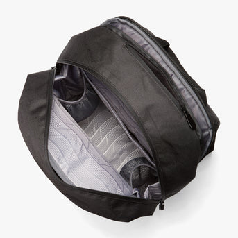 Interior Empty - Hanover 2 - 600D Recycled Poly - Onyx - Backpack - Lo & Sons
