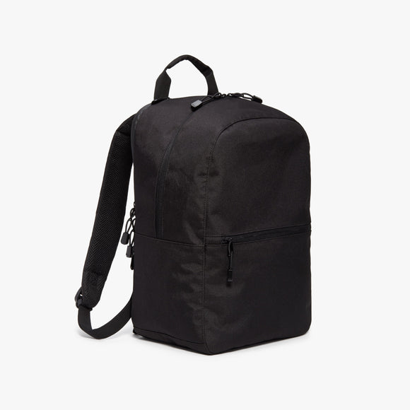 Side - Hanover 2 - 600D Recycled Poly - Onyx - Backpack - Lo & Sons