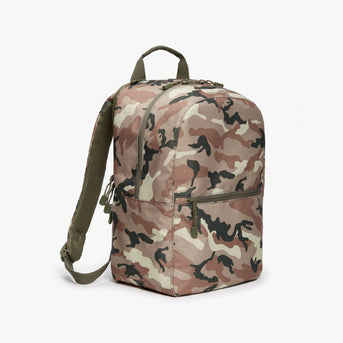 Side - Hanover 2 - 600D Recycled Poly - Tan Camo - Backpack - Lo & Sons