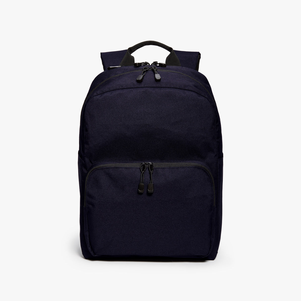 Front - Hanover Deluxe 2 - 600D Recycled Poly - Deep Navy - Backpack - Lo & Sons