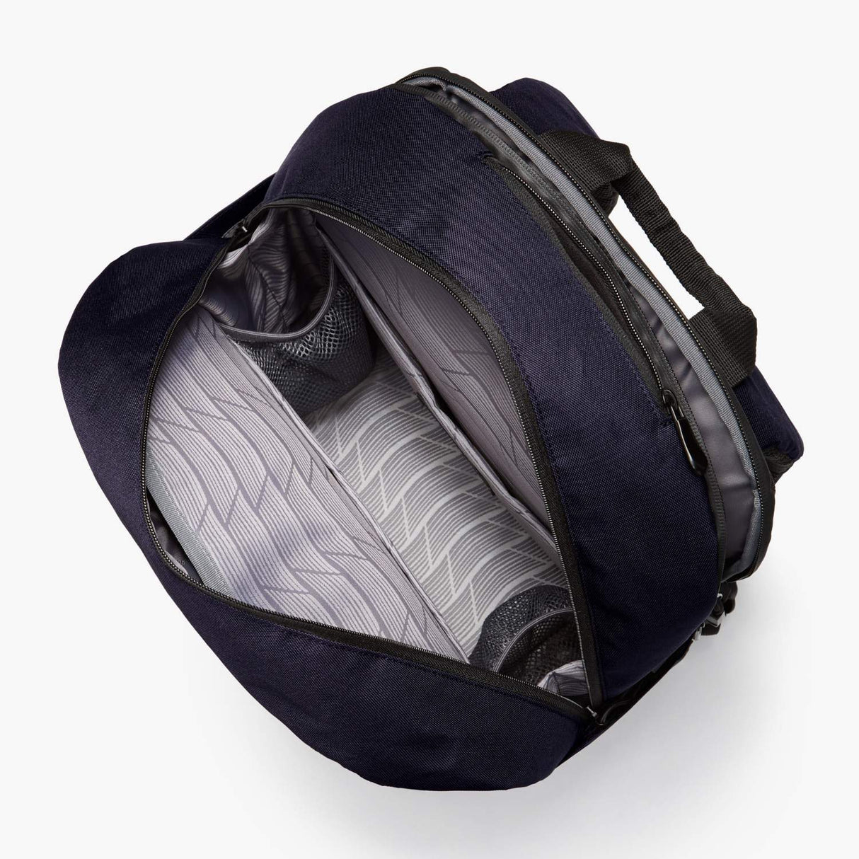 Interior Empty - Hanover Deluxe 2 - 600D Recycled Poly - Deep Navy - Backpack - Lo & Sons