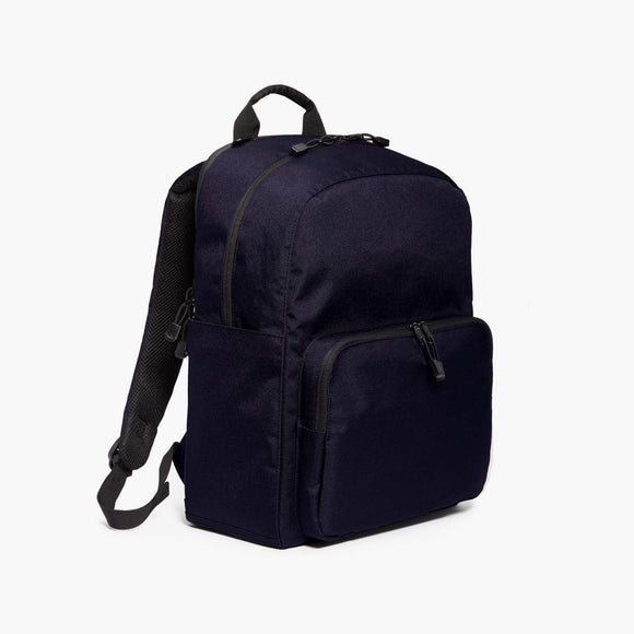 Side - Hanover Deluxe 2 - 600D Recycled Poly - Deep Navy - Backpack - Lo & Sons