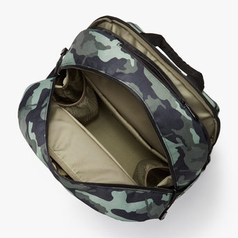 Interior Empty - Hanover Deluxe 2 - 600D Recycled Poly - Green Camo - Backpack - Lo & Sons