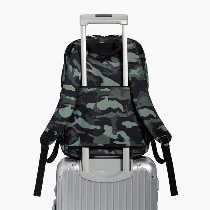 Luggage Backpack - Hanover Deluxe 2 - 600D Recycled Poly - Green Camo - Backpack - Lo & Sons