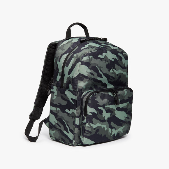 Side - Hanover Deluxe 2 - 600D Recycled Poly - Green Camo - Backpack - Lo & Sons