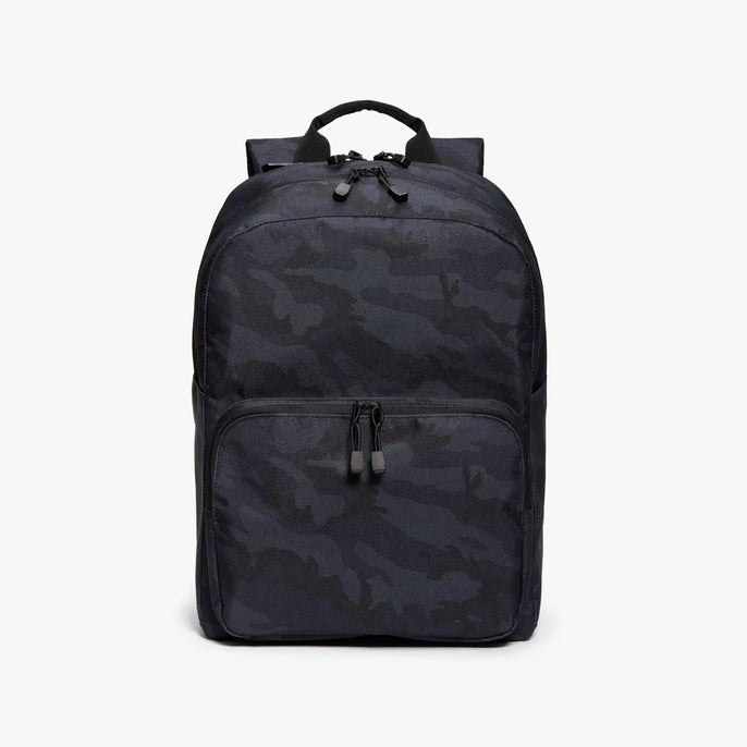Front - Hanover Deluxe 2 - 600D Recycled Poly - Navy Camo - Backpack - Lo & Sons